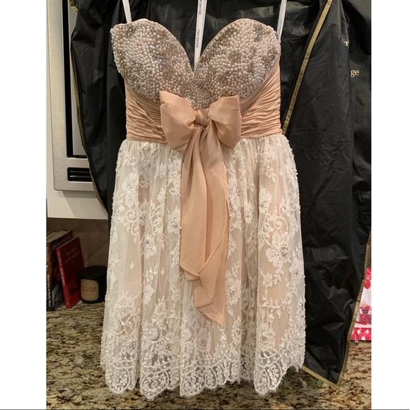 Sherri Hill Dresses & Skirts - Sherri Hill Blush Short Formal Dress